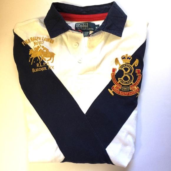 f17dda428 Rare POLO Ralph Lauren Bleecker Vintage 90s Shirt.  M 5b19343daa5719ed4feda90d